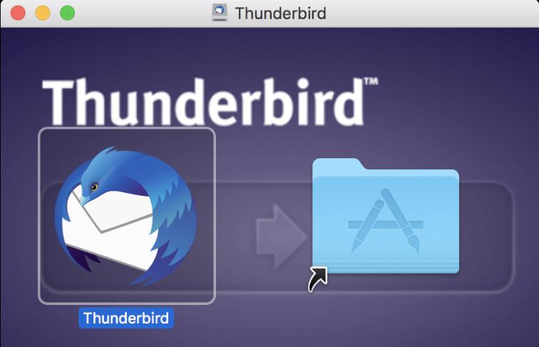 Thunderbird(サンダーバード)をインストール