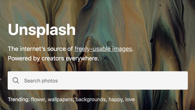 写真素材サイト「Unsplash(アンスプラッシュ)」